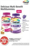 Caltrate Calcium Products or Centrum Multivitamins