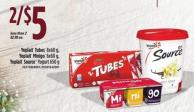 Yoplait Tubes - 8x60g - Yoplait Minigo - 6x60g - Yoplait Sourceyogurt - 650g