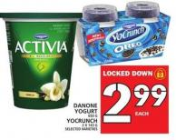 Danone Yogurt Or Yocrunch