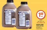Dairyland Chocolate Milk Beverage