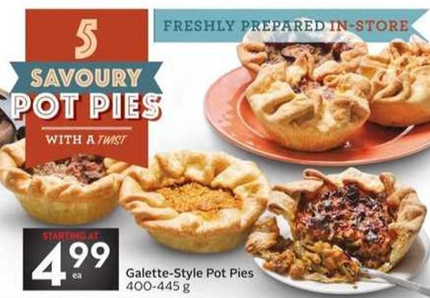 Galette-style Pot Pies