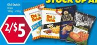 Old Dutch Chips 180g - 235g