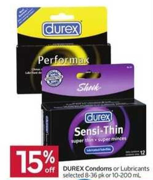 Durex Condoms or Lubricants