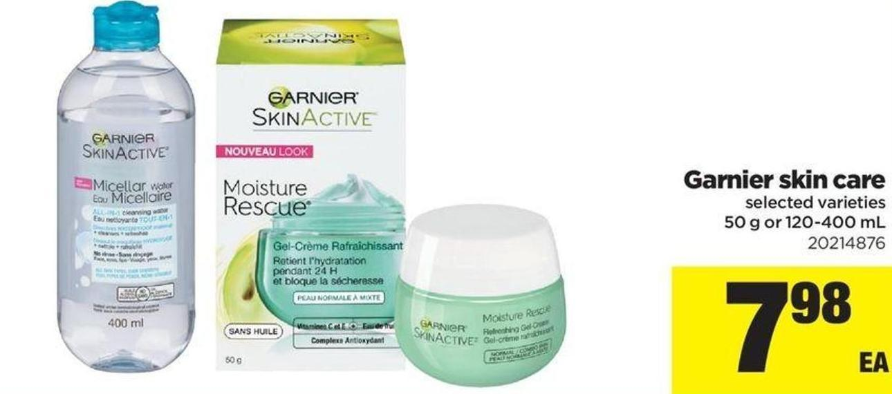 Garnier Skin Care - 50 g or 120-400 mL