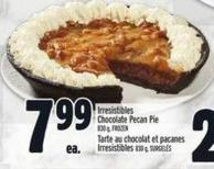Irresistibles Chocolate Pecan Pie 830 g - Frozen