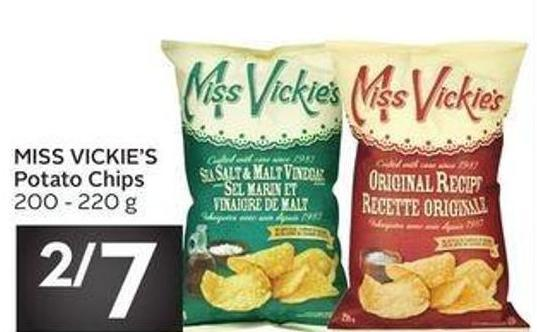 Miss Vickie's Potato Chips