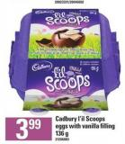Cadbury L'il Scoops Eggs With Vanilla Filling - 136 G