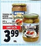 Yehuda Or Kedem Gefilte Fish