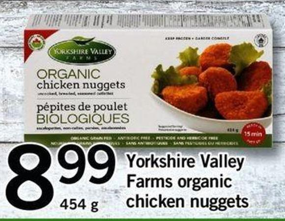 Yorkshire Valley Farms Organic Chicken Nuggets