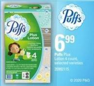 Puffs Plus Lotion - 4 Count