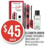 Elizabeth Arden  Grand Entrance Mascara Set