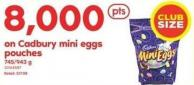 Cadbury Mini Eggs Pouches - 745-943 g