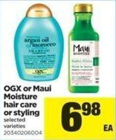 Ogx Or Maui Moisture Hair Care Or Styling