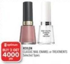 Revlon  Classic Nail Enamel or Treatments