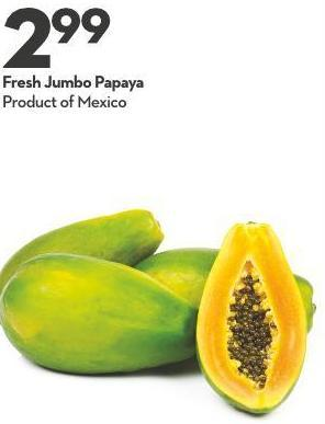 Fresh Jumbo Papaya