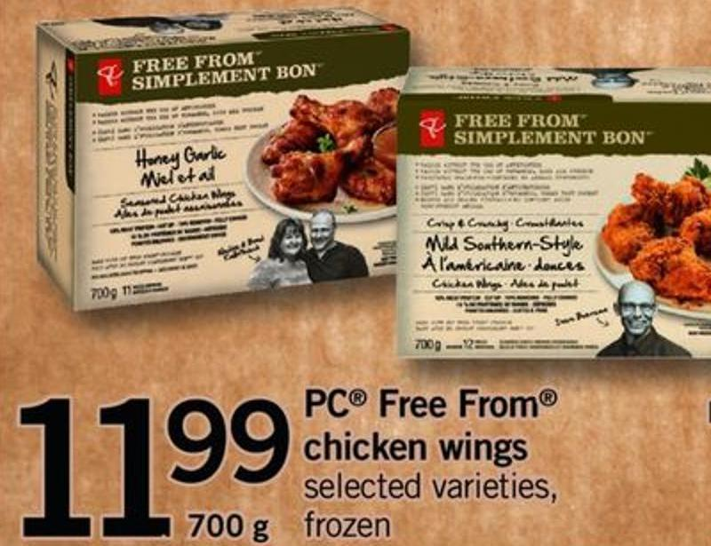 PC Free From Chicken Wings - 700 G
