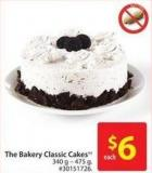 The Bakery Classic Cakes 340 g - 475 g