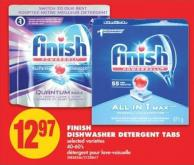 Finish Dishwasher Detergent Tabs - 40-60's