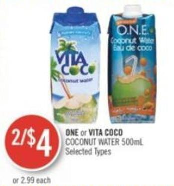 One or Vita Coco Coconut Water 500ml