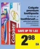 Colgate Premium Toothpaste - 70-150 Ml Or Toothbrush