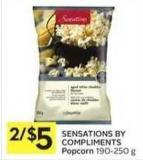 Sensations By Compliments Popcorn 190-250 g