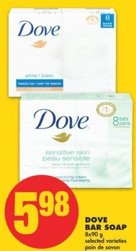 Dove Bar Soap - 8x90 G