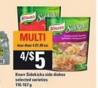 Knorr Sidekicks Side Dishes - 116-167 G