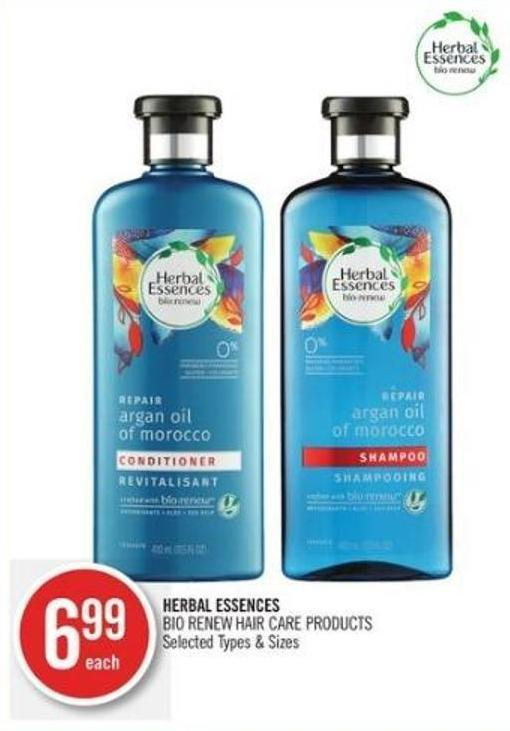Herbal Essences Bio:renew Hair Care Products