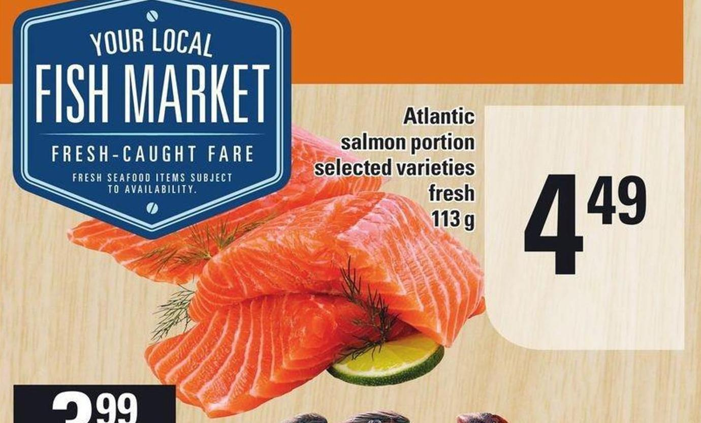 Atlantic Salmon Portion - 113 g
