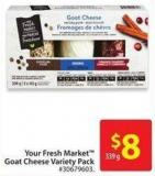 Your Fresh Market Goat Cheese Variety Pack 339 g