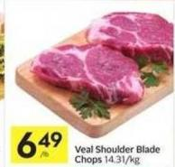 Veal Shoulder Blade Chops