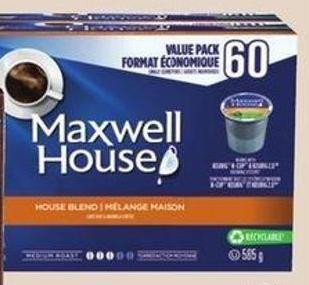 Maxwell House Blend Coffee Pods