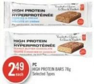 PC High Protein Bars 78 g