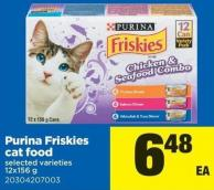 Purina Friskies Cat Food - 12x156 g
