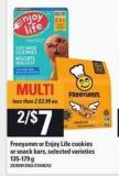 Freeyumm Or Enjoy Life Cookies Or Snack Bars - 135-179 g