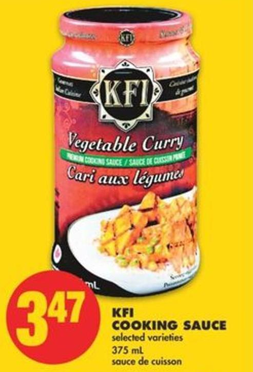 Kfi Cooking Sauce - 375 Ml