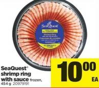 Seaquest Shrimp Ring With Sauce - 454 g