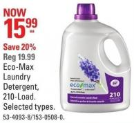 Eco-max Laundry Detergent - 210-load