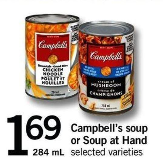 Campbell's Soup Or Soup At Hand - 284 Ml