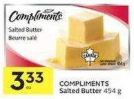 Compliments Salted Butter