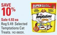 Selected Temptations Cat Treats