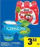 IOGO Nano 6x93 Ml - Danone Oikos Or Light & Free 4x95/100 G - Activia Or 100% Natural 8x100 G