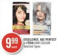 L'oréal Excellence - Age Perfect or Féria Hair Colour