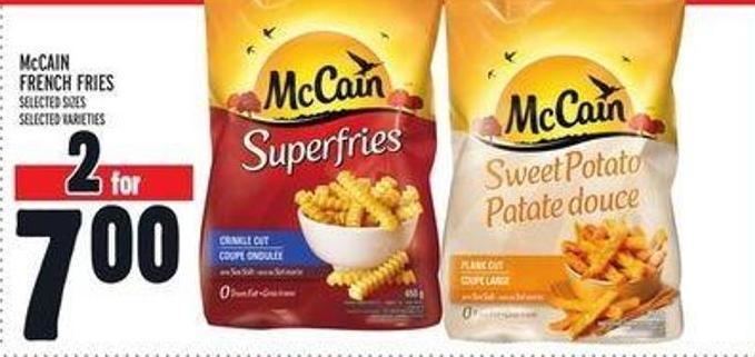 how to make mccain french fries