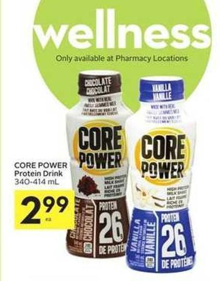 Core Power Protein Drink