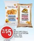 PC Kettle Chips (220g) or Ready-to-eat Popcorn (200g - 850g)