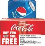 Coca-cola Or Pepsi 12 X 355 Ml Or Nestea Or Fruitopia Beverages 12 X 341 Ml Or 5.99 Ea.