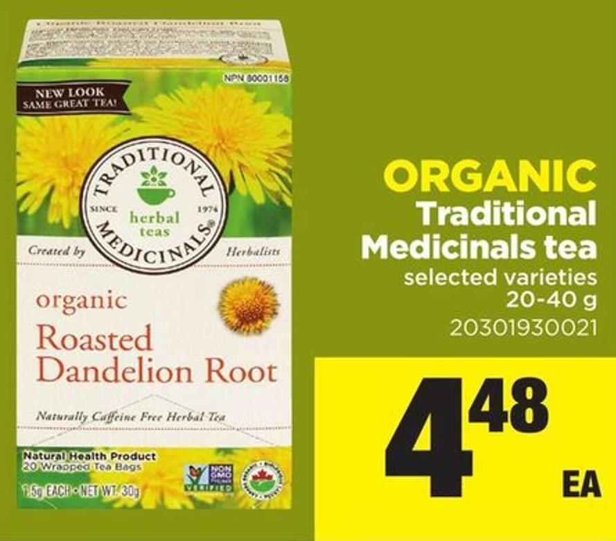 Traditional Medicinals Tea - 20-40 g