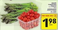 Grape Tomatoes Or Asparagus