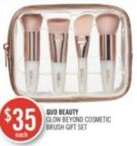 Quo Beauty Glow Beyond Cosmetic Brush Gift Set